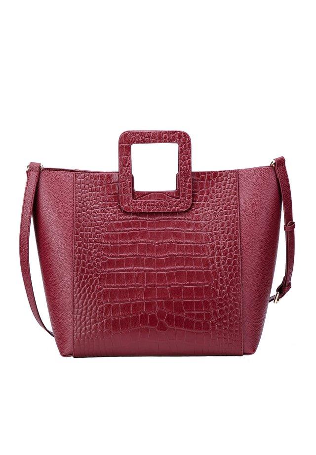 MARCIE - Shopping Bag - bordeaux