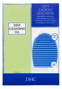 DHC - DEEP CLEANSING OIL + BRUSH CLEANER SET - Skincare set - - - 1