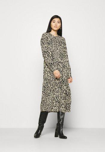 KAKINDA DRESS - Day dress - black/beige