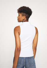 Nly by Nelly - HIGH NECK BIKE - Top - white - 2