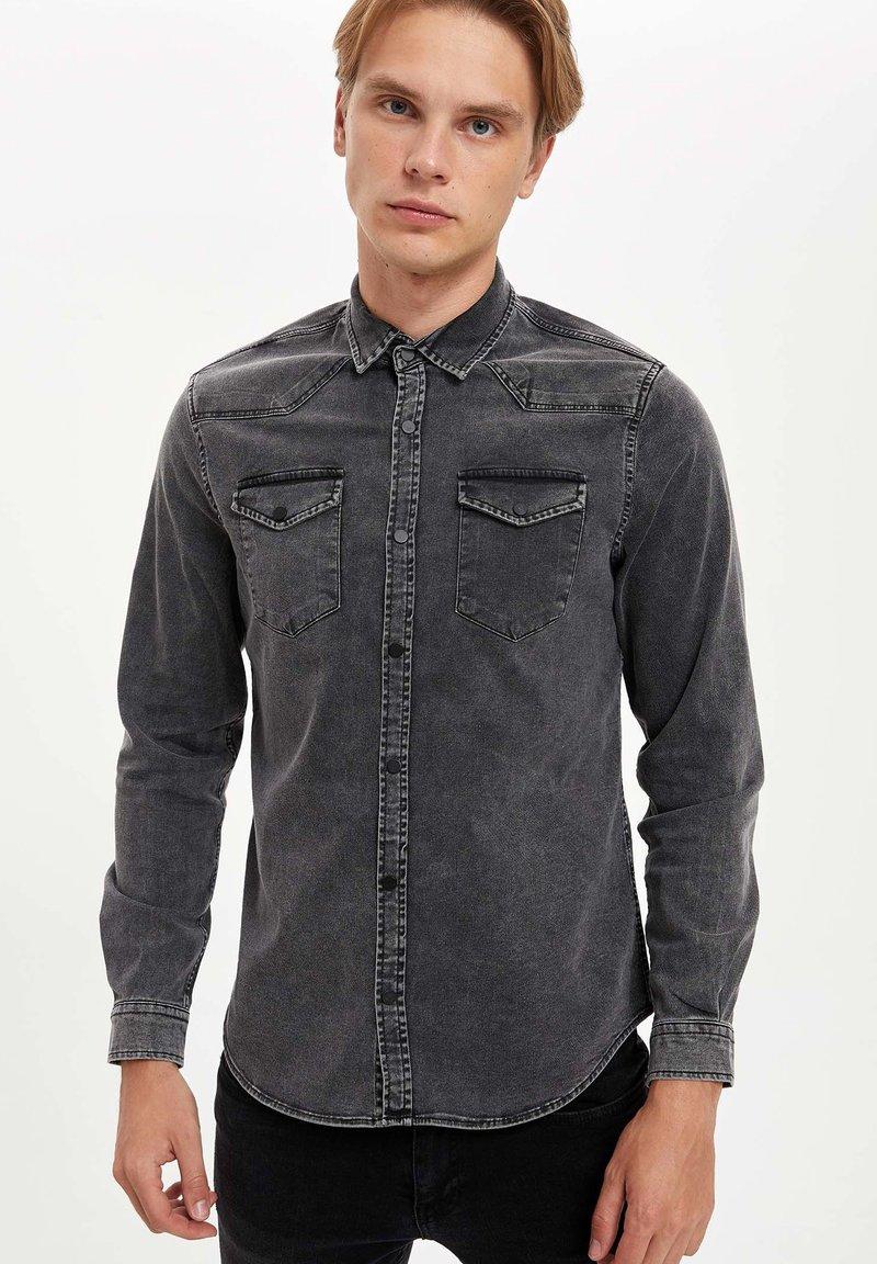 DeFacto - Shirt - black