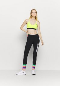 Nike Performance - INDY BRA - Sport BH - volt/black - 1