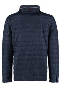 DNR Jackets - MIT REISSVERSCHLUSS UND KNOPFLEISTE - Light jacket - dark blue - 1