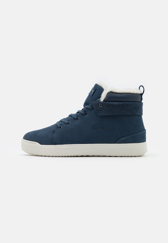 EXPLORATEUR THERMO - Baskets montantes - navy/offwhite