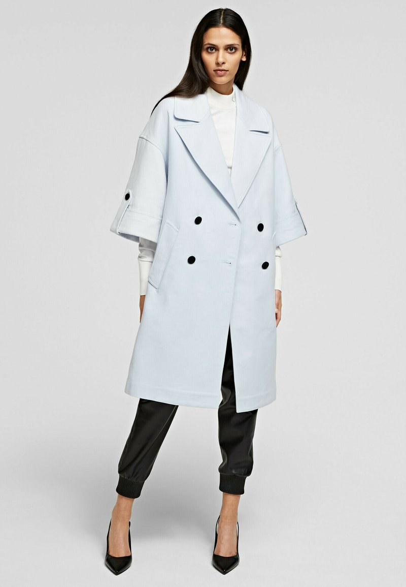 KARL LAGERFELD - Classic coat - artic ice
