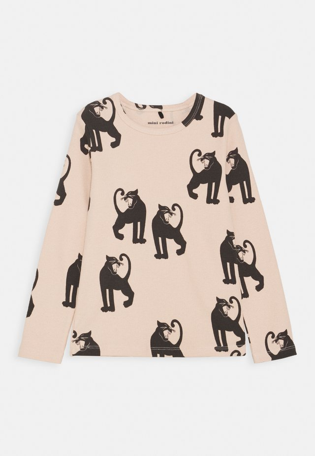 PANTHER TEE - Long sleeved top - pink