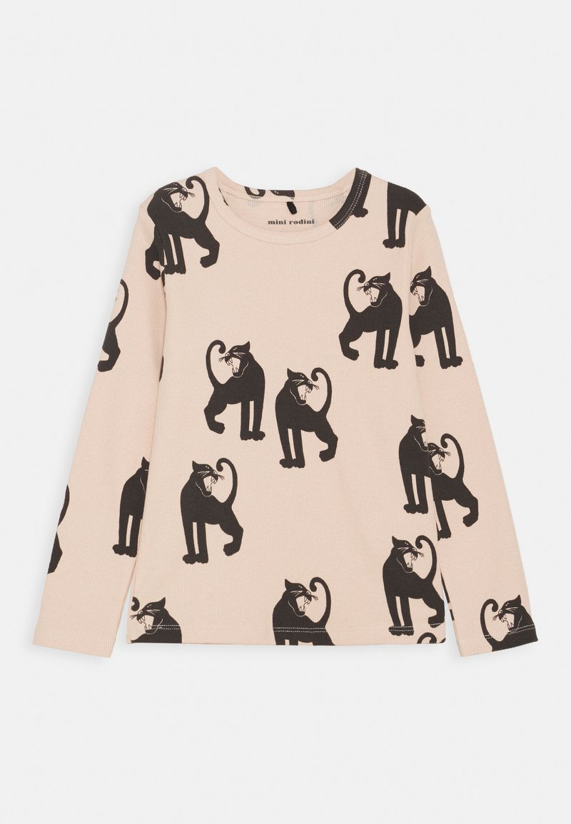 Mini Rodini - PANTHER TEE - Long sleeved top - pink