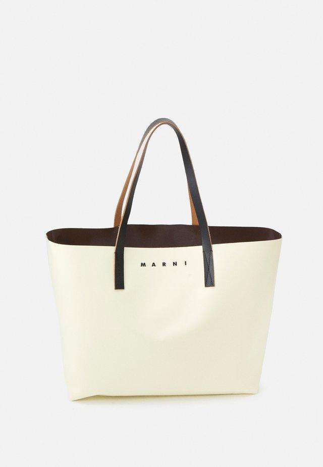 TRIBECA SHOPPING BAG UNISEX - Shopper - cement/coffee/black