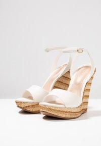 ALDO - CILMACLYA - High heeled sandals - white - 4