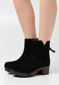 Softclox - Platform ankle boots - black - 0