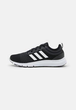 FLEX 2 - Sports shoes - core black/footwear white/carbon