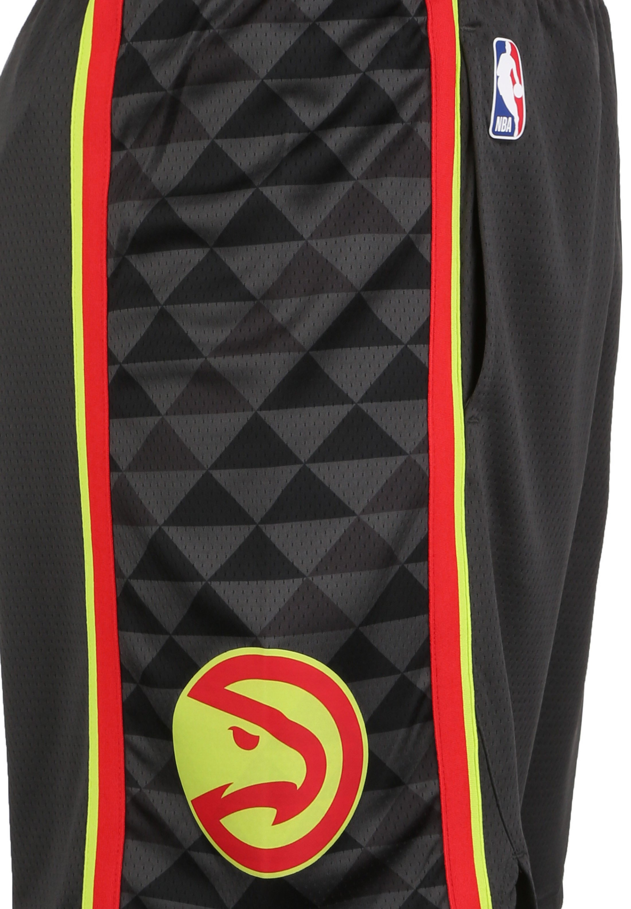 Nike Performance Short - anthracite/red