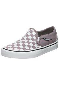 Vans - ASHER - Slip-ons -  purple dove white - 1