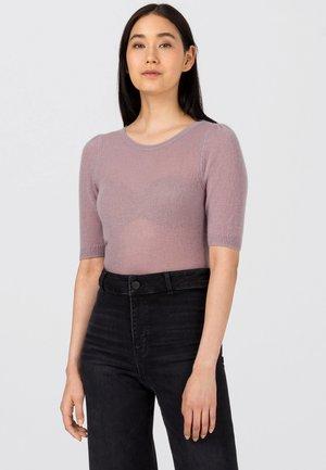 Basic T-shirt - mauve
