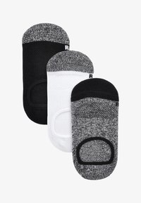 Next - 3 PACK INVISIBLE  - Trainer socks - multi-coloured - 0
