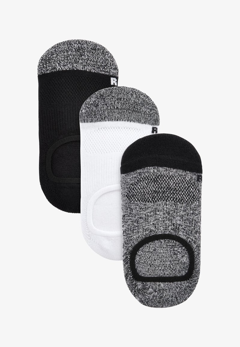 Next - 3 PACK INVISIBLE  - Trainer socks - multi-coloured