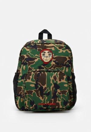 CAMO SCHOOL BAG - Batoh - green