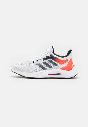 ALPHATORSION 2.0 ALPHA BOUNCE - Neutrale løbesko - footwear white/core black/solar red