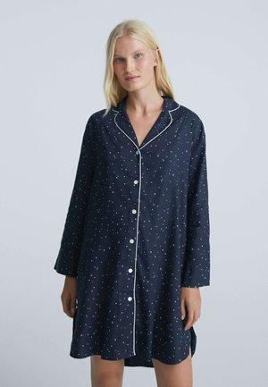 LONG STAR - Pyjama top - dark blue