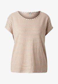 comma casual identity - Print T-shirt - caramel stripes - 6