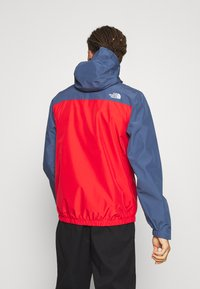 The North Face - WATERPROOF FANORAK - Hardshell-jakke - vintage indigo/rococco red - 2