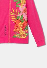Desigual - FLORA - Sweater met rits - red - 3