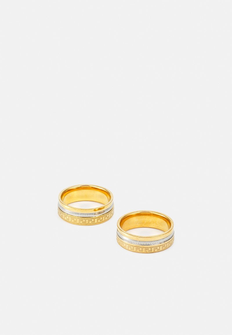 River Island - 2 PACK - Ring - gold-coloured