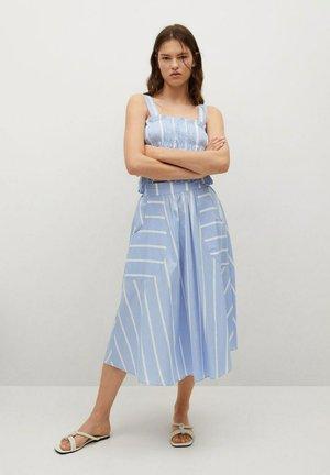 A-line skirt - bleu ciel