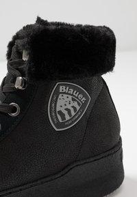 Blauer - MADELINE - Kotníková obuv - black - 2