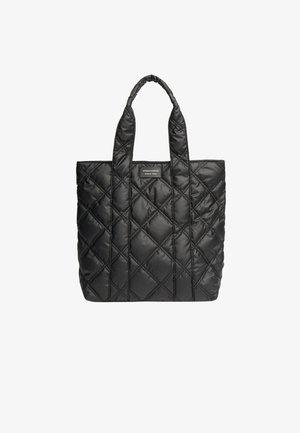 GESTEPPTE UMHÄNGETASCHE - Handbag - black