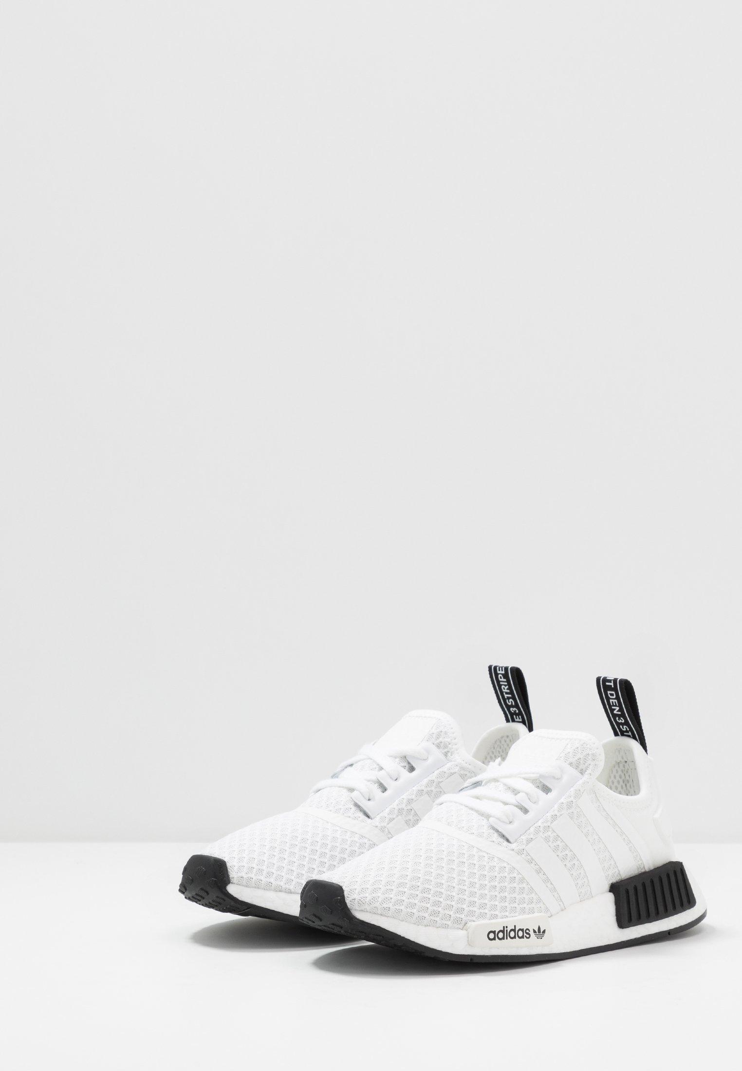 adidas Originals NMD_R1 Joggesko ftwwhtftwwhtgum3hvit