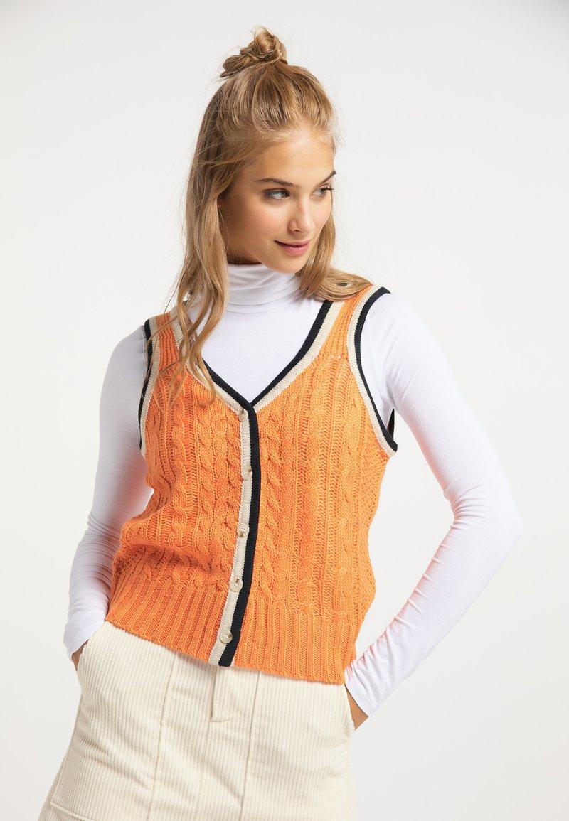 myMo - Cardigan - orange