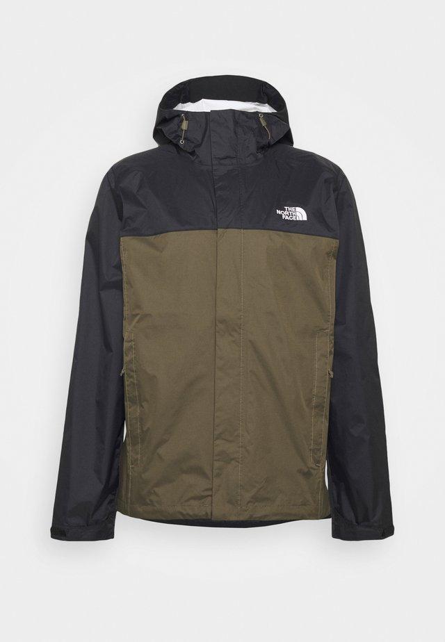 VENTURE 2 JACKET  - Hardshell jacket - black/taupe