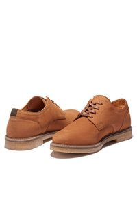 Timberland - OAKROCK LT OXFORD - Sznurowane obuwie sportowe - rust nubuck - 2
