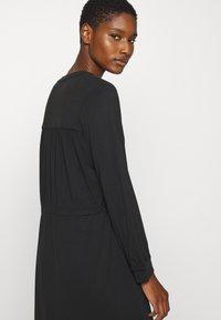 Selected Femme - SLFMIE DAMINA DRESS - Jersey dress - black - 3