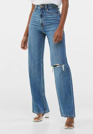 90s WIDE LEG - Jeans a zampa - dark blue