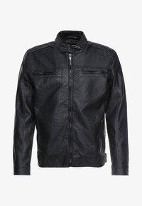 Brave Soul - JONES - Faux leather jacket - black - 4