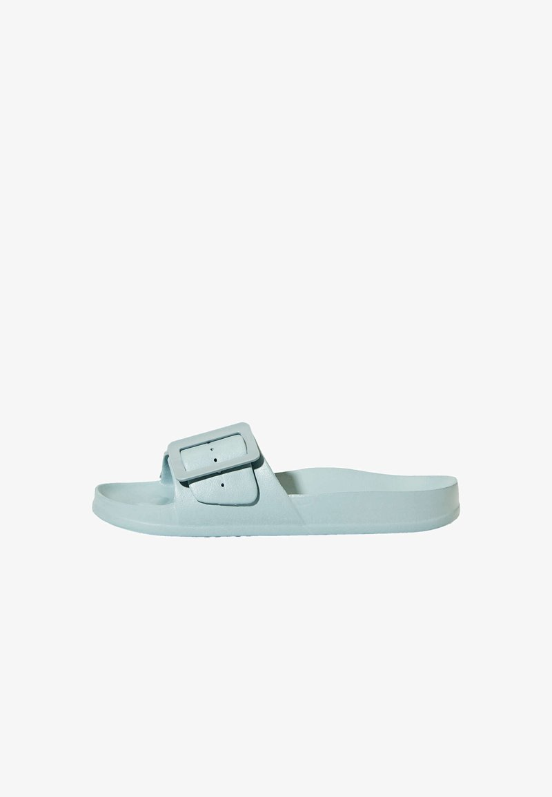 OYSHO - MIT SCHNALLE  - Pantofle - blue