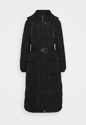 IMBOTTITO OVATT LUNGO - Winter coat - nero