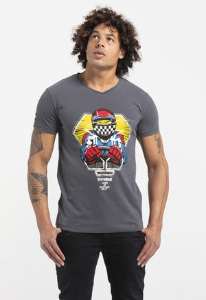 LIMITED TO 360 PIECES - BUTCHER BILLY - F1 - Print T-shirt - grey