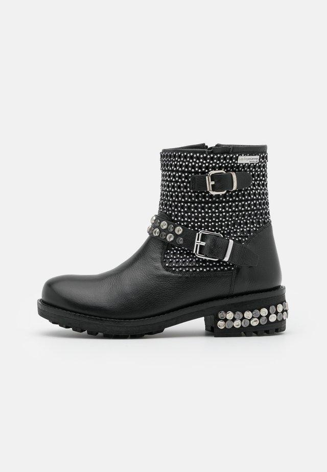 ZOREA - Cowboy/biker ankle boot - noir