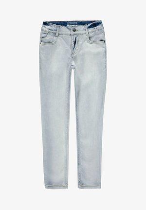 Jean droit - blue bleached