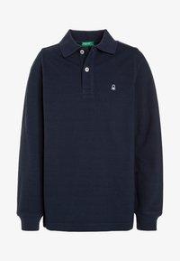 Benetton - Polo shirt - dark blue - 0