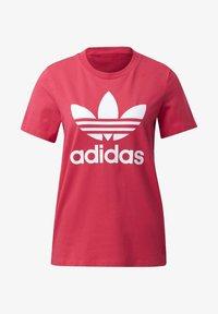 adidas Originals - TREFOIL T-SHIRT - Print T-shirt - pink - 8