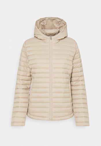 Winter jacket - macadamia