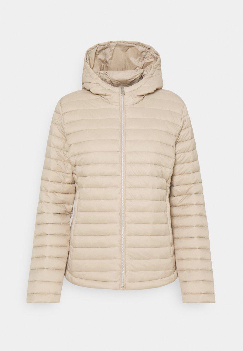 Opus - Winter jacket - macadamia