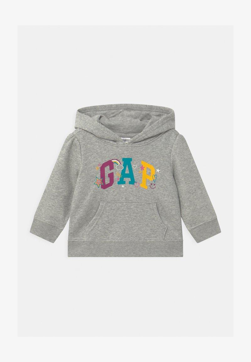 GAP - TODDLER GIRL LOGO  - Hoodie - light grey