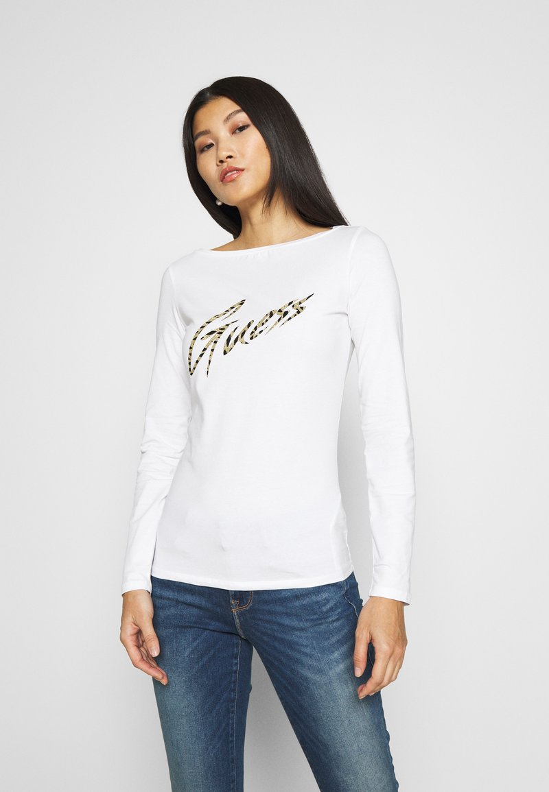 Guess - NORAH  - Long sleeved top - true white