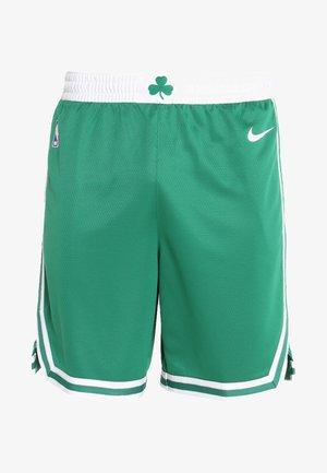BOSTON CELTICS NBA SWINGMAN SHORT - Sports shorts - clover/white