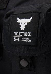 Under Armour - PROJECT ROCK DUFFLE - Sportovní taška - black - 6